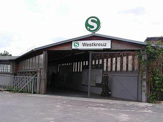 Berlin Westkreuz station - Entrance to Westkreuz station