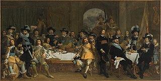 Schuttersmaaltijd met kolonel Jan van de Poll en kapitein Gijsbert van de Poll