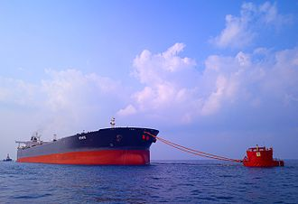Single buoy mooring - Single-point mooring facility off Puthuvypin, Kochi, India