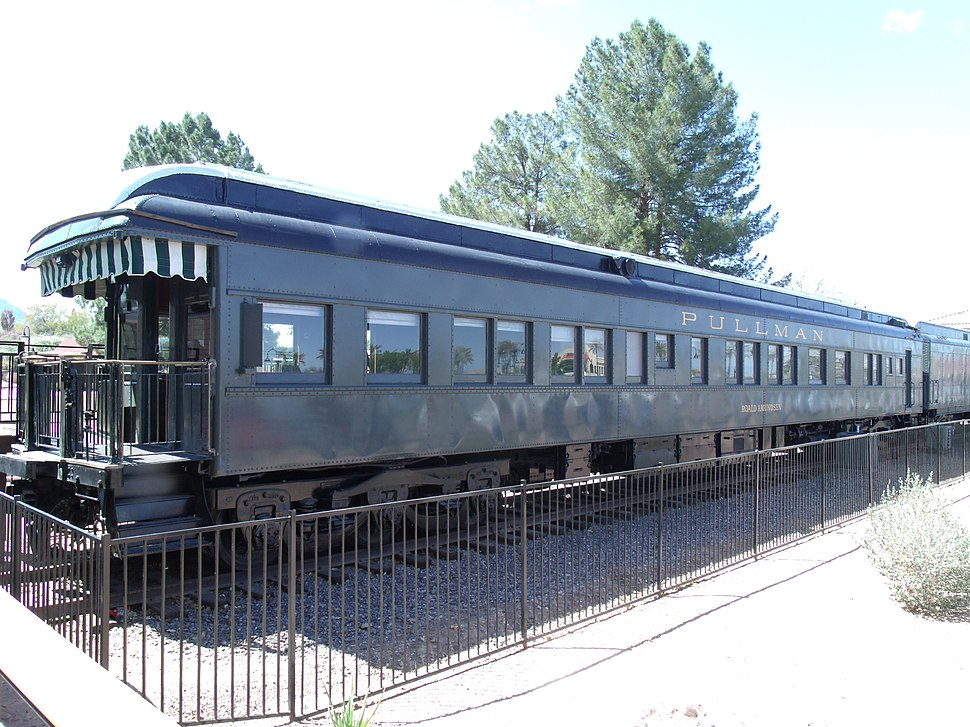 SD-Roald Amundsen Pullman Private Railroad Car 1928