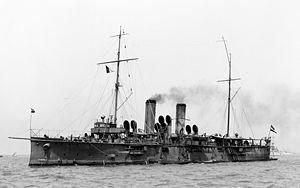 SMS Aspern - Image: SMS Aspern Austro Hungarian cruiser 1907