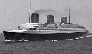 SS <i>Normandie</i> ship