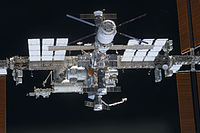 STS-133 International Space Station after undocking (close-up).jpg