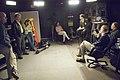 SWEDISH TV NOBEL SHOOT W-JOHN MATHER - DPLA - 7dd2bf466608ef17721c4cf6e3b4f160.jpg
