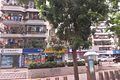 SZ 深圳 Shenzhen Bus 104 view 羅湖 Luohu 黃貝路 Huangbei Road shops CCBank June 2017 IX1 16.jpg