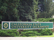 Sac State North Entrance