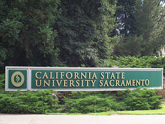 California State University, Sacramento - Sacramento State north entrance