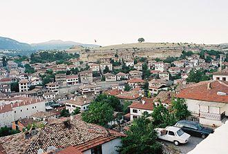 Safranbolu - Image: Safranbolu general view 1