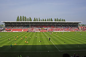 Racecourse Ground - Yale Stand