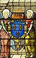 Saint-Chapelle de Vincennes - Baie 1 - Deux anges présentant les armes de France (bgw17 0753).jpg