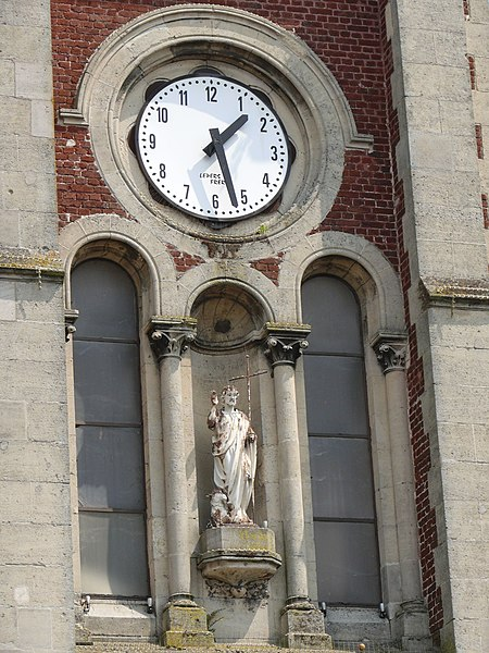 Saint-John of Saint-Quentin (Aisne, Picardie, France).