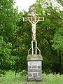 Saint-Savin (65) croix mission à côté chapelle Pietat.JPG