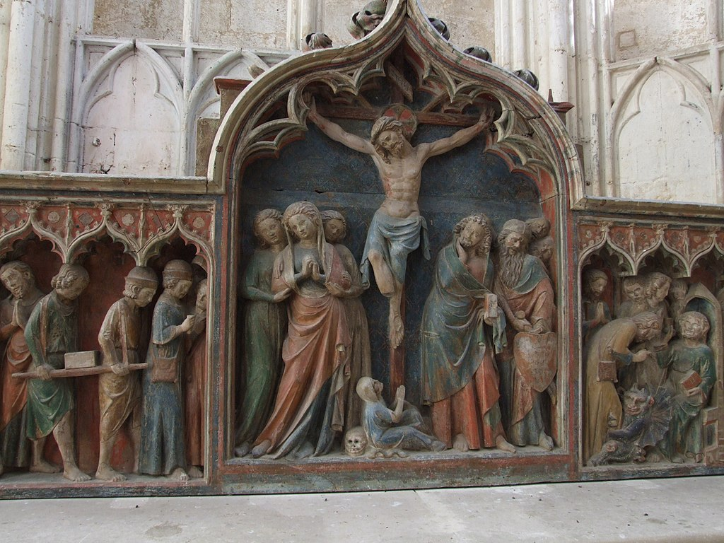 Au Prieuré de Saint-Thibault dans EGLISES DE FRANCE 1024px-Saint-Thibault_-_Retable_2