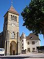 Saint-Vincent-Bragny (Saône-et-Loire, Fr), église St.Martin à Bragny.JPG