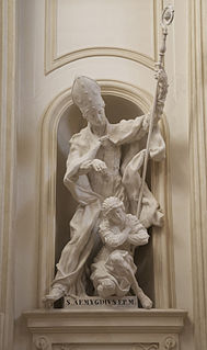 Emygdius Christian bishop and martyr