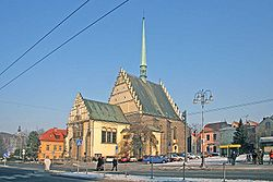 Saint Bartolomeo Church, Pardubice, Czech Republic.jpg