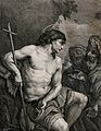 Saint John the Baptist. Etching by Moiltte after J.C. Loth, Wellcome V0032481.jpg