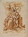 Saint Mary (the Blessed Virgin) with the Christ Child and Sa Wellcome V0033928.jpg