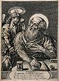 Saint Matthew. Engraving by W. Faithorne, 1657. Wellcome V0032639.jpg
