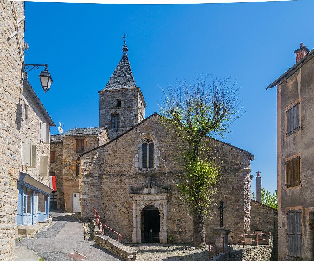 Saint Sauveur Church in Severac-le-Chateau.jpg
