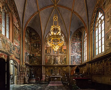 St Wenceslas Chapel In Prague Cathedral 1356 1367