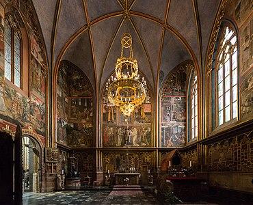 Saint Wenceslas Chapel, St. Vitus Cathedral, Prague 20160809 1