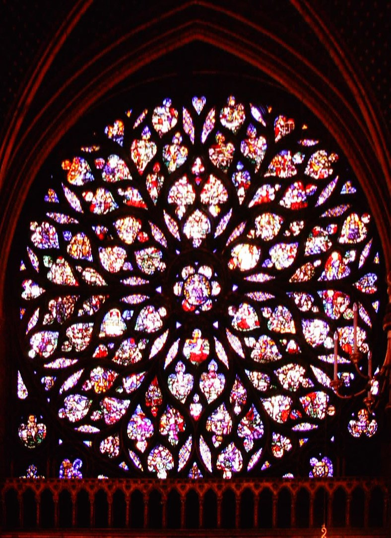 Sainte-Chapelle-Rose-window