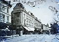 Salacz utca (Strada Grigore Alexandrescu), Központi Szálloda. Fortepan 86677.jpg