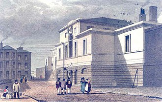 Manchester Martyrs - New Bailey Prison at Salford, 1832
