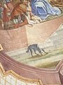 Salmendingen Pfarrkirche Deckengemälde detail Hund.jpg