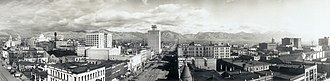 History of Salt Lake City - Downtown Salt Lake City circa 1913