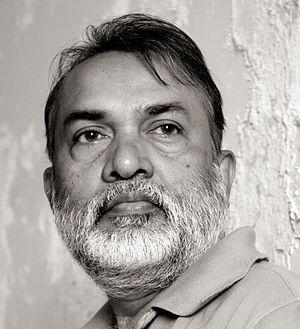 Samir Mondal - Samir Mondal at his studio in Mumbai