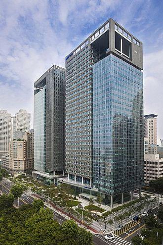 Samsung SDS - Samsung SDS Headquarters in Seoul, South Korea.