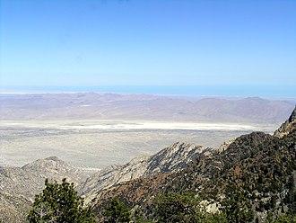Volcanoes of east-central Baja California - Sierra San Pedro Mártir