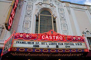 Frameline Film Festival - Castro theatre during the Frameline39 in June 2015