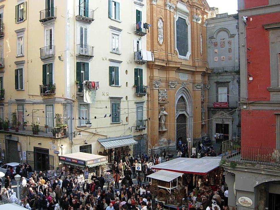 San Lorenzo Maggiore in central Naples