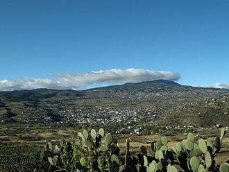 Milpa Alta - Overlooking San Pedro Atocpan