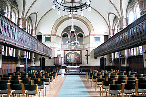 St. Luke's Church, Copenhagen - The interior