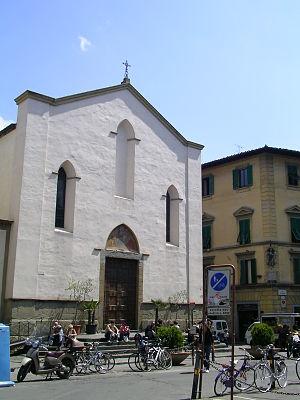 Sant'Ambrogio, Florence - The façade of Sant'Ambrogio