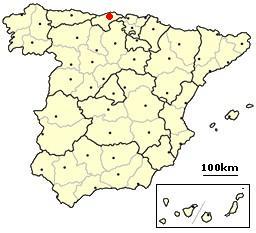 Santander, Spain location