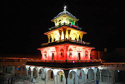 Santram Mandir, Nadiad during Dev Diwali Celebration in 2008