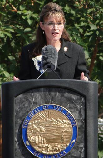 Resignation of Sarah Palin - Sarah Palin gives farewell speech at Fairbanks' Pioneer Park