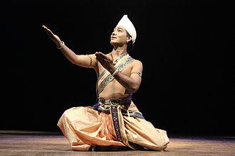 Sattriya - Sattriya posture by Ramkrishna Talukdar