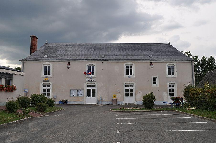 Mairie de Savigné-sous-le-Lude (Sarthe)