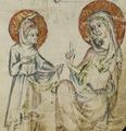 Sbs-0008 026r Jesus überreicht Maria das Wasser.TIF