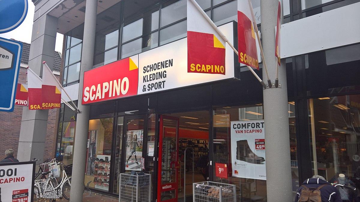 2d9f30a690e Scapino (winkelketen) - Wikipedia