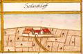 Schaichhof, herzogliche Domäne, Holzgerlingen, Andreas Kieser.png