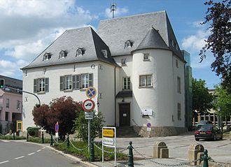 Schauwenburg Castle - Schauwenburg Castle, Bertrange
