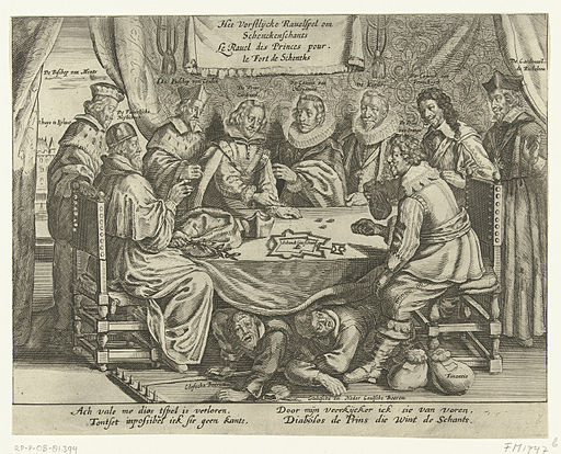 Schenckenschans spotprent 1635