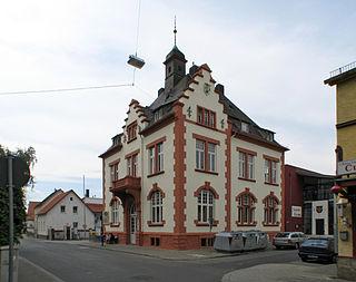 Schierstein Borough of Wiesbaden in Hesse, Germany